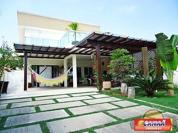 Casa Na Praia Peruíbe, Condomínio Fechado Cr