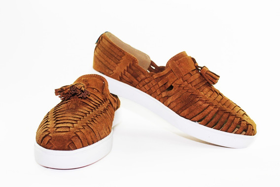 Calzado Artesanal Piel Gamuza Pazos