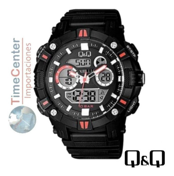 Reloj Q&q, Deportivo G-shock 10 Bar, Hombre, Alarmas,luz Led