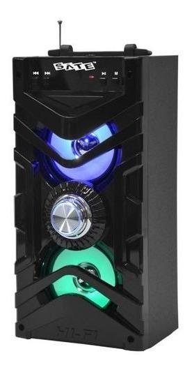 Caixa De Som Satellite As-3829 10w Aux Usb Sd Bluetooth Fm