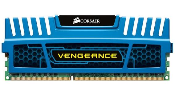 Memoria Corsair Vengeance 4gb Ddr3 1600 Mhz Azul Semi Nova