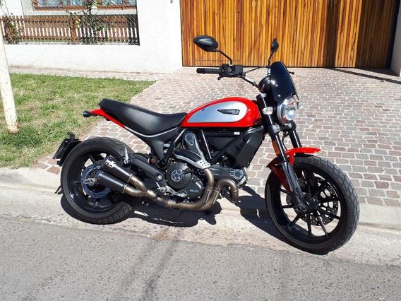 Ducati Scrambler Icon 800 Roja