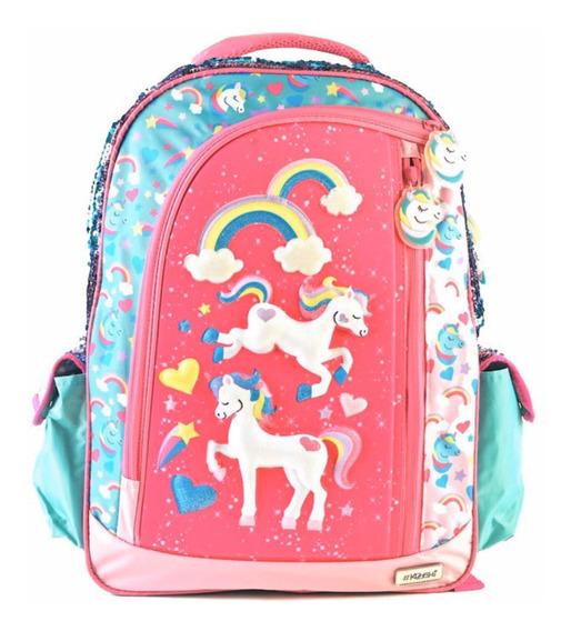 Mochila Unicornio Grande Espalda 3d