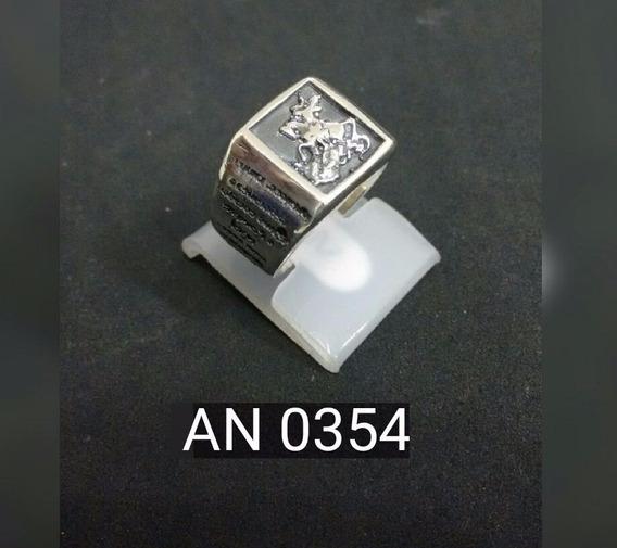 Anel Em Prata 925 - Fabricação Artesanal