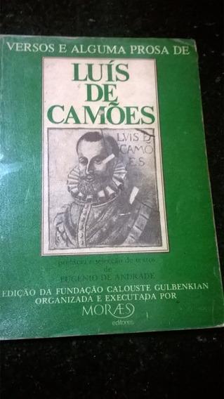 Versos E Alguma Prosa De Luís De Camões