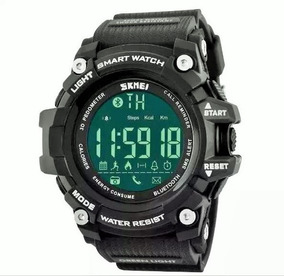 Relógio Pulseira Borracha Smart Watch Skmei 1227 Pt