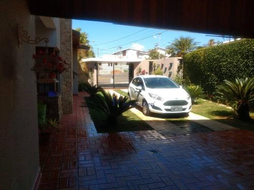Casa Com 4 Dormitórios À Venda, 341 M² Por R$ 1.050.000,00 - Parque Terranova - Valinhos/sp - Ca4252