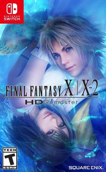 Final Fantasy X X-2 Hd Remaster - Switch - Mídia Física!