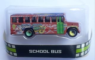 Hot Wheels Retro - School Bus - Muppets - Ônibus Escolar