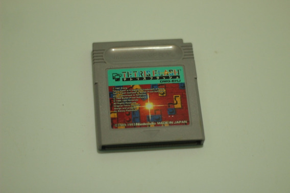 Jogo Tetris Flash 100% Original Nintendo Game Boy Gameboy Gb