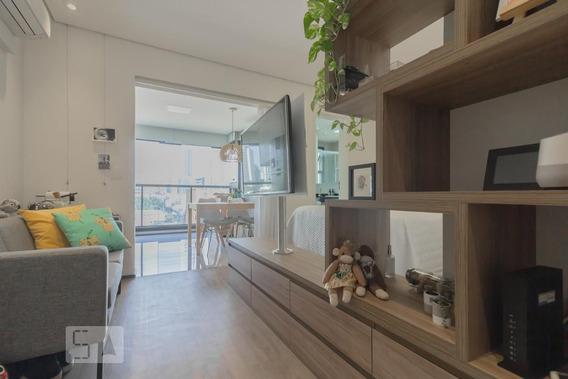 Studio No 12º Andar Mobiliado Com 1 Dormitório E 1 Garagem - Id: 892960709 - 260709