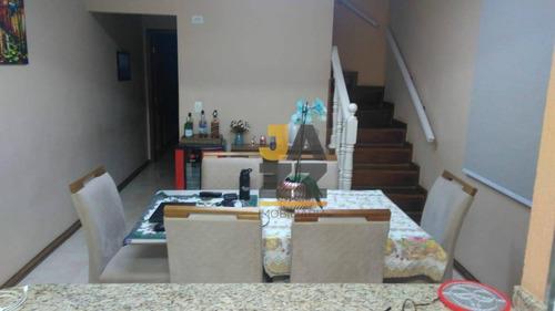 Casa Com 2 Dormitórios À Venda, 220 M² R$ 660.000 - Cipava - Osasco/sp - Ca12835