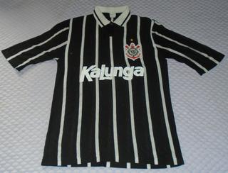 Corinthians Camisa Kalunga Anos 90 Numero 09 Taeschner G