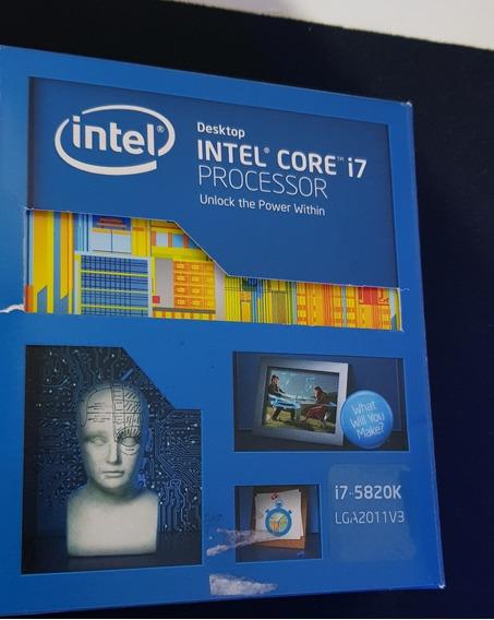 Processador I7 5820k Box Completo