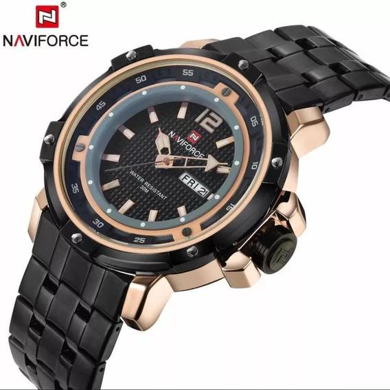 Relógio Masculino Naviforce 9073m Importado Com Nota Fiscal