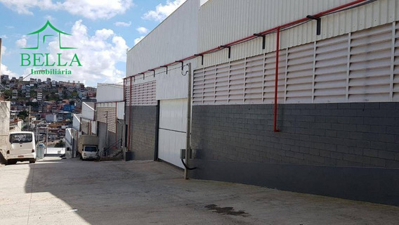 Galpão Comercial Para Locação, Laranjeiras, Caieiras. - Ga0162