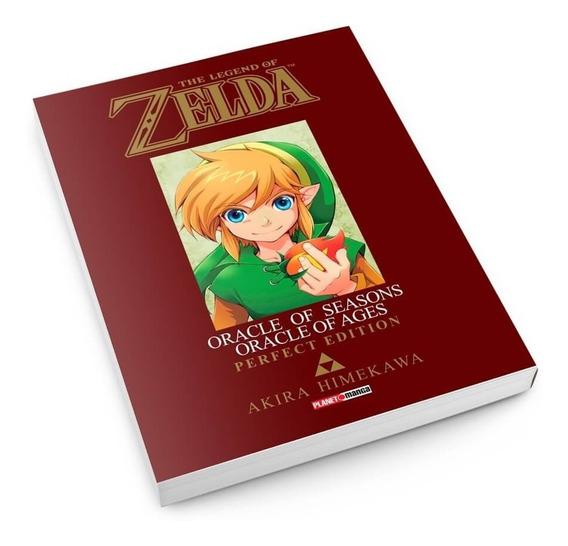 Mangá The Legend Of Zelda Panini Vários Volumes Lacrados