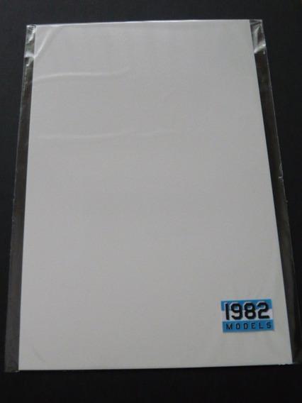 Plasticard (plástico Alto Impacto) Para Modelismo 0,3 Mm.