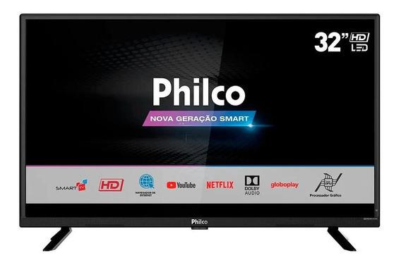 Smart Tv Led 32 Philco, Hdmi, Usb, Dolby Audio - Ptv32g52s