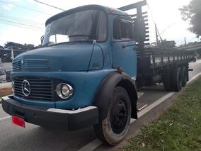 Mb 1113 Truck Carroceria Madeira! Aceito Troca