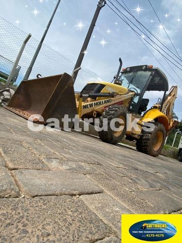 Retro Escavadeira New Holland 95 B Ano 2013
