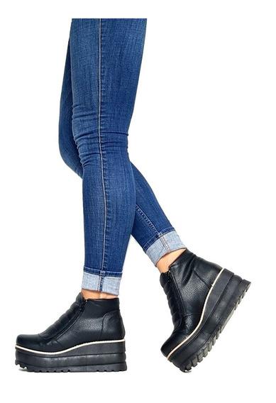 Zapatos Botas Botin Temporada 2018 Plataforma Goma Colores