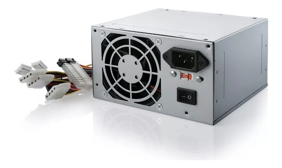 Fonte Atx Power Supply Multilaser Ga200bu Com Nota Fiscal E
