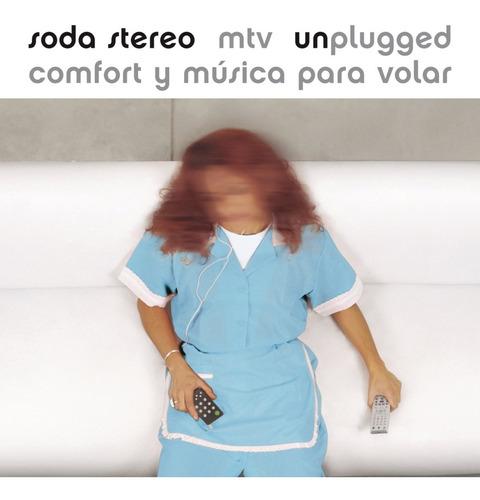 Imagen 1 de 1 de Soda Stereo Comfort Y Musica Para Volar Mtv Unplugged Vinilo
