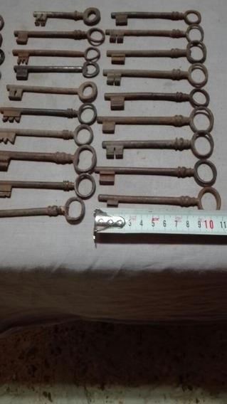 Llaves De Cerradura (17).hierro.antiguas.precio Cada Una