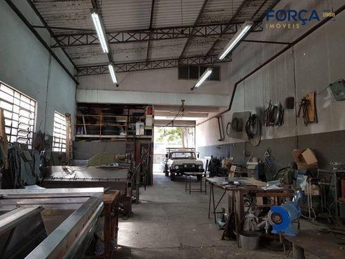 Galpão Para Venda, 400 M² - Ermelino Matarazzo - São Paulo/sp - Ga0332