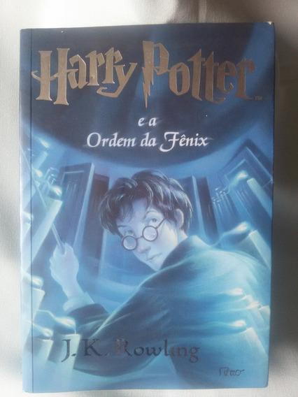 Antigo Livro Harry Potter E A Ordem Da Fênix - Nº 2692g