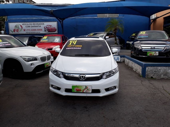 Civic Exr 2.0 Aut Top Unico Dono Teto 2014