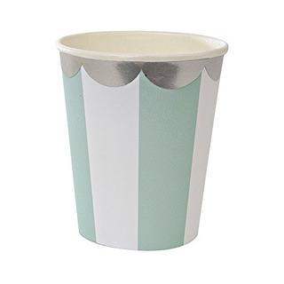 Meri Meri Toot Sweet Blue Stripe Party Cup