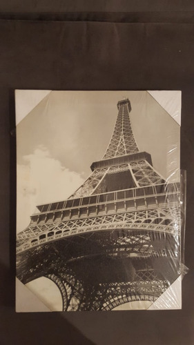 Cuadros Modernos Torre Eiffel Y Frases 35000