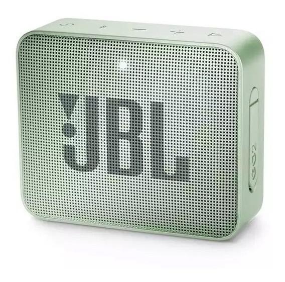 Caixa De Som Bluetooth Jbl Go 2 Mint - À Prova Dágua