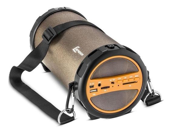 Caixa De Som Bluetooth Portátil Speaker Rádio Bivolt Flex