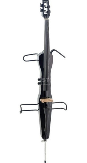 Stagg Violoncello Eléctrico 4/4 Con Funda Negro Cello