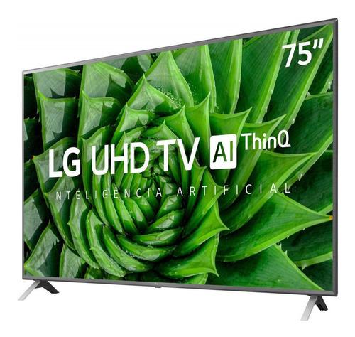 Imagem 1 de 6 de Smart Tv Ultra Hd Led 75 Polegadas LG 4k 4 Hdmi 2 Usb