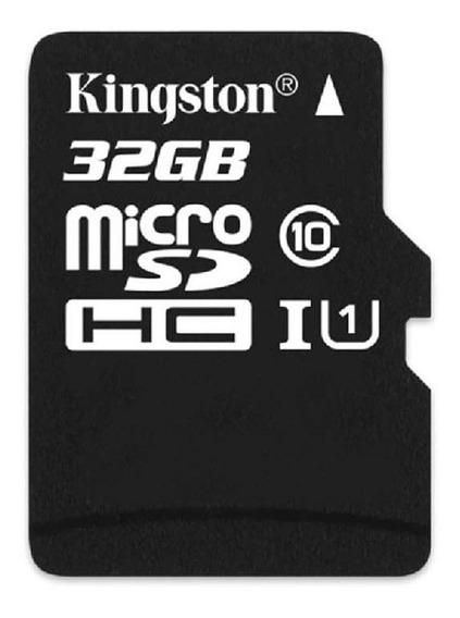 Cartão Kingston Micro Sdhc Tf - Preto (32gb / Classe 10)