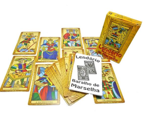 Tarô Tarot De Marselha Baralho Jogo De Cartas