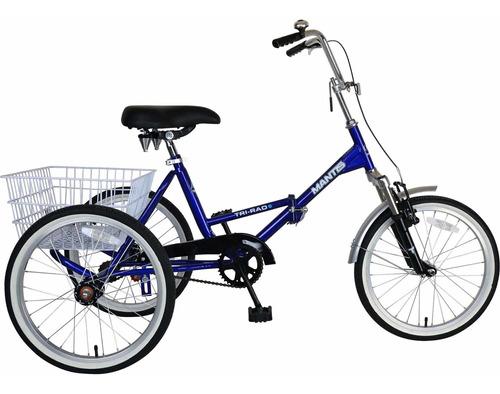 Triciclo Para Adulto Plegable Mantis Tri-pad Modelo 67520