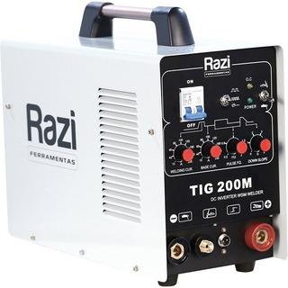 Inversora De Solda Tig 200m Rz-ms09010, 220v Mono - Razi