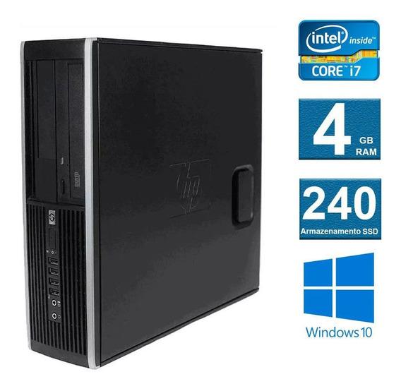 Computador Desktop Hp Elite 8300 I7 4gb 240ssd