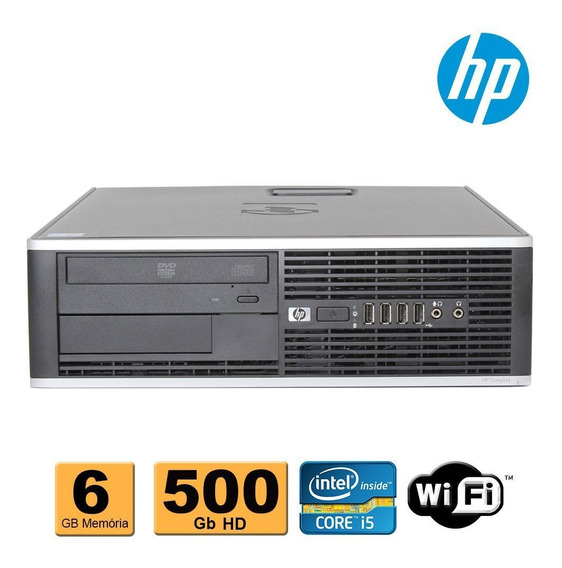 Computador Cpu Hp Elite Core I5 6gb Drr3 500gb Wifi