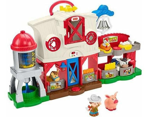 La Granja Fisher-price Little People Caring For Animals Farm