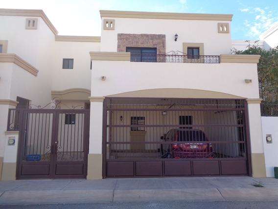 Renta Casa Dos Niveles Área Común Con Alberca Y Juegos Infantiles En Hermosillo