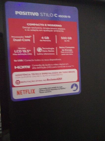 Computador Positivo Stilo CProcessador Intel Dual Core4gb