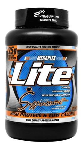 Megaplex Lite Proteína 3lbs Upn Baja En Calorías L-carnitina