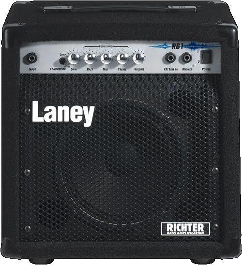 Amplificador Laney Rb1 Bajo 15w Richter Bass