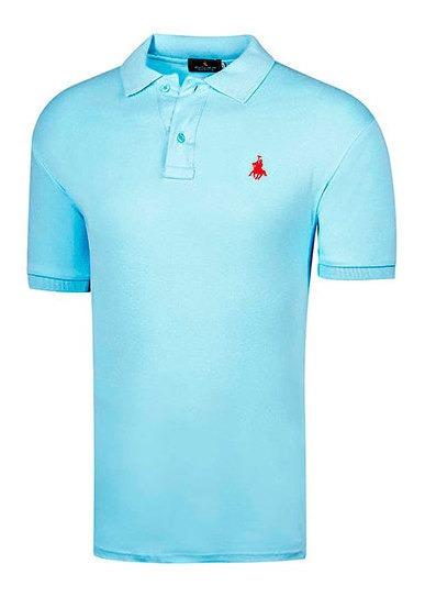 Polo Polo Club 102 Hombre Talla Chi-xgd Color Azul Pk-oi19